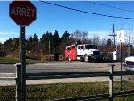 CN MoW Crane Truck